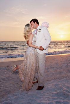 Intimate Beach Wedding In Naples Florida