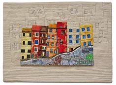 Sewing | Quilt | House | Hilde Morin fiber art