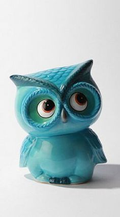 I love owls....especially turquoise owls:)