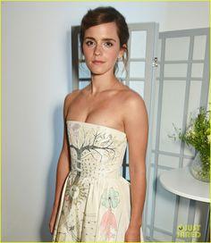 Emma Watson's Dior Dress Tells an Entire Story