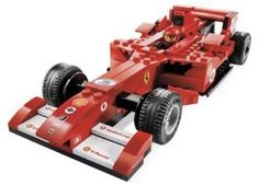LEGO Ferrari F1 1:24 by LEGO. $179.99. 1:24 scale model. Includes the latest details, the newest body style and the most up-to-date sponsor logos. 167 pieces. Use the pull-back motor to speed down the track. From the Manufacturer                With all the latest details, the newest body style and the most up-to-date sponsor logos, the official 1:24 scale Ferrari F1 is ready to race! Use the pull-back motor to speed down the track and join the Ferrari racing leg...
