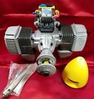 NEW Vintage Italian Super Tartan Twin 77G Contest Model Glow RC 44cc Engine