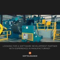 Looking for software development partner with experience in manufacturing? http://www.softelegance.com