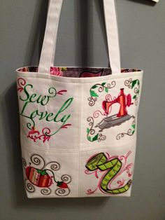 AG Designs tote front