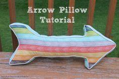 birchfabrics: Free PDF Pattern | Arrow Pillow | by Swoodson Says