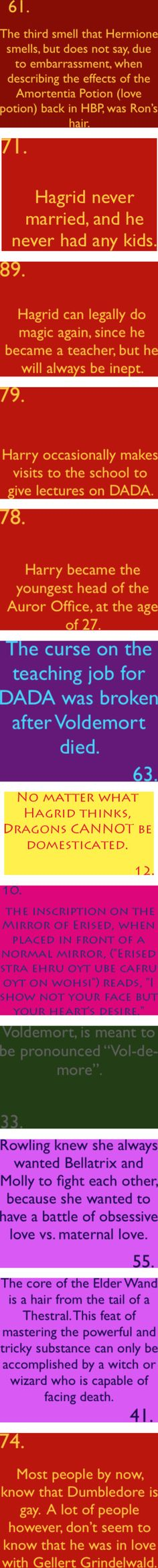 Yaaaay more HP facts!