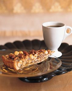 Caramel Nut Tart - Martha Stewart Recipes