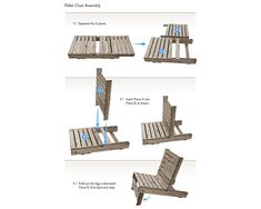 Pallet Chair instructions.