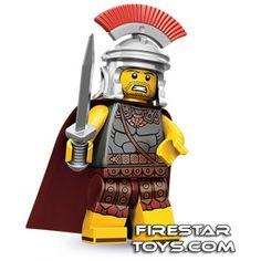LEGO Minifigures - Roman Commander | Minifigures Series 10 | Collectable LEGO Minifigures | Firestartoys.com