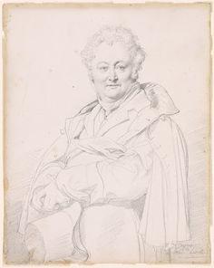 Portrait of Guillaume Guillon-Lethière - Jean-Auguste-Dominique Ingres — Google Arts & Culture