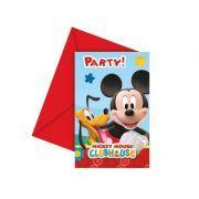 Mickey Mouse Parti Davetiyesi