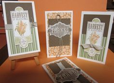 Harvest of Thanks Note Cards