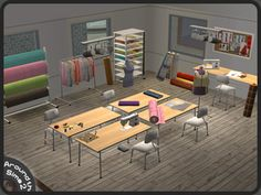 Around the Sims 2   Objects   Other   Fashion Studio