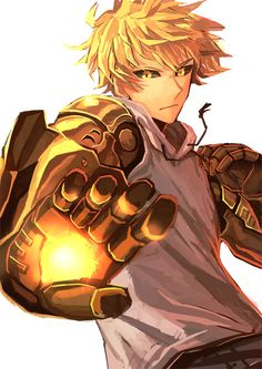 Genos from One Punch Man | Read my review here ~ http://www.theyorouzoya.com/2016/01/OnePunchMan.html