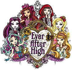 Madeline, Raven, Briar, Cerise, Apple & Ashlynn