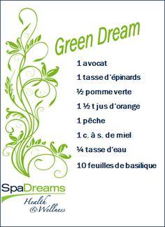 """!!! - Votez votre vedette - !!! Le smoothie préféré des Français. Aimer, partager, commenter - Toutes vos actions comptent !  """"Ma vedette pour la semaine detox SpaDreams !! - Le Green Dream - !!""""  http://www.spadreams.fr/  http://www.spadreams.fr/blog/minceur-et-dietetique/semaine-detox-avec-spadreams"""