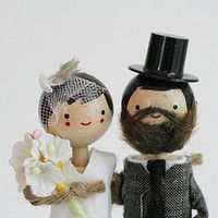 wedding-cake-toppers that look like nick and i!