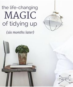 'Modern Mrs Darcy's best tips and favorite takeaways from the konmari tidying process, 6 months on Home Organisation, Life Organization, Vida Frugal, Konmari Method, Sweet Home, Organizing Your Home, Organising, Organizing Tips, Tidy Up