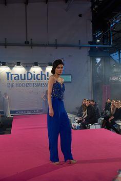 EMANUEL HENDRIK | Body Suit: HOTNESS LZ | Pants: MARLENE | Dress - Bride - Wedding | COBALT BLUE - Tulle - Lace - Chiffon | Made in Duesseldorf - Germany | Destination Wedding - Beach - Festival - Wild - Modern - Party - Sparkle - Boho - Vintage - Romantic - Lovely - Barn - Glamour - Hollywood | Wedding Dress | Fashion - Bridal Couture