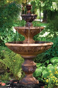 """78"""" Four Tier Sonoma Fountain   Massarelli's"""
