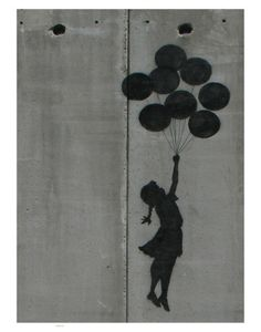 Balloon girl (unknown artist)