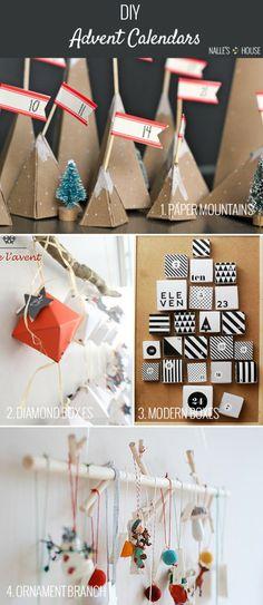 Nalle's House: INSPIRATION: DIY Advent Calendars