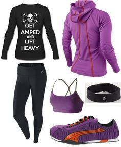 Cute Workout gear (just not those pants...)