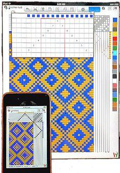 WeaveIt -- A Handweaving design software Program They also have an app