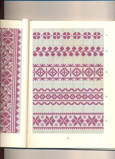View album on Yandex. Knitting Charts, Baby Knitting, Knitting Patterns, Cross Stitch Borders, Cross Stitching, Loom Patterns, Stitch Patterns, Inkle Weaving, Palestinian Embroidery