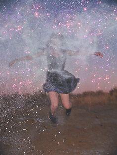 glitter smoke bomb