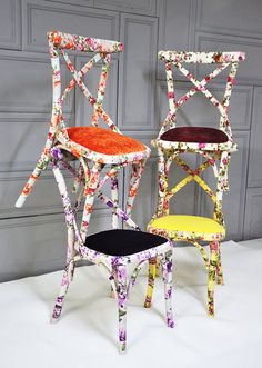 funky chairs...