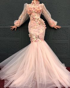 by dona matoshi ; Mermaid Evening Dresses, Formal Evening Dresses, Elegant Dresses, Pretty Dresses, Prom Dresses, Wedding Dresses, Dress Formal, Couture Dresses, Fashion Dresses