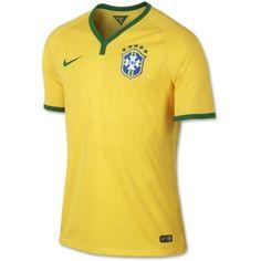2014 Brasil World Cup Brazil National Team Soccer Jersey Top Quality Shirt Yellow Neymar Jerseys World Cup Jerseys, Mexico Soccer, Soccer Uniforms, Basketball Jersey, Neymar, Football, Nike, Polo Ralph Lauren, Brazil