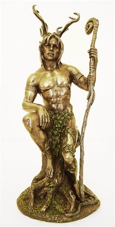 Beautiful!! One of the best horned god statues I've seen