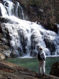 Map of Lake Jocassee Waterfalls | Waterfall #4