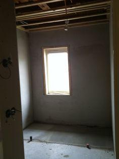 """2011 - Badkamer helemaal naar onze zin...#design in jaren '30 woning! Van """"niets"""" iets maken...."""