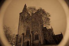 Dunfermline Abbey by night   Photograph by DalSilvaDigital   #dalsilvadigital