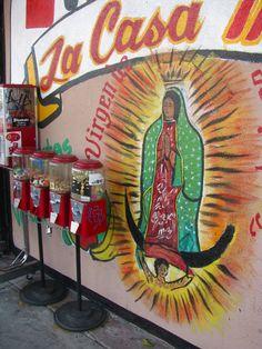 Virgen de Guadalupe | Mural | Street Art