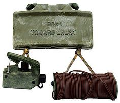 US M18a1 claymore mine