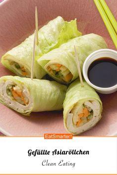 Gefüllte Asiaröllchen mit Wasabi - smarter - Kalorien: 128 kcal - Zeit: 20 Min. | eatsmarter.de