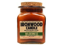 Wilderness - Ironwood Candle – Ironwood Candles