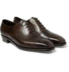 George CleverleyAnthony Statham Leather Oxford Brogues