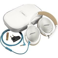 Bose® - QuietComfort® 25 Acoustic Noise Cancelling Headphones - White - Alternate View 4