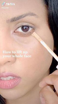 Contour Makeup, Makeup Art, Face Makeup, How To Makeup, Make Up Contouring, Makeup Tips Contouring, Dewy Skin Makeup, Strobing Makeup, How To Contour Your Face