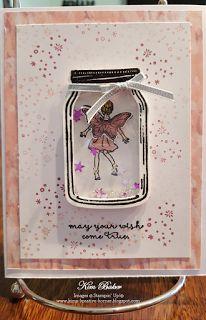 Kim's Kreative Korner: Fairy Celebration meets Jar of Love