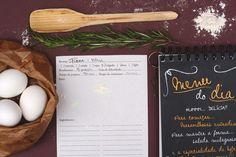 Caderno de receitas menu