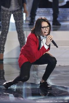 http://blogger.hollywoodjunket.com/2013/05/michelle-chamuel-voice-live-show-night_28.html  See Michelle Chamuel's Live Show Night Three Photo Gallery #TheVoice Season 4 Episode 16a