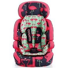 Cosatto Zoomi Flamingo car seat! OMG my inner girl is screaming!!!!
