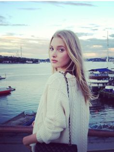 Elsa Hosk is such a natural beauty and makes me proud to be swedish! :)