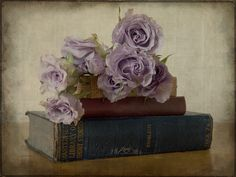 Old Books & Roses